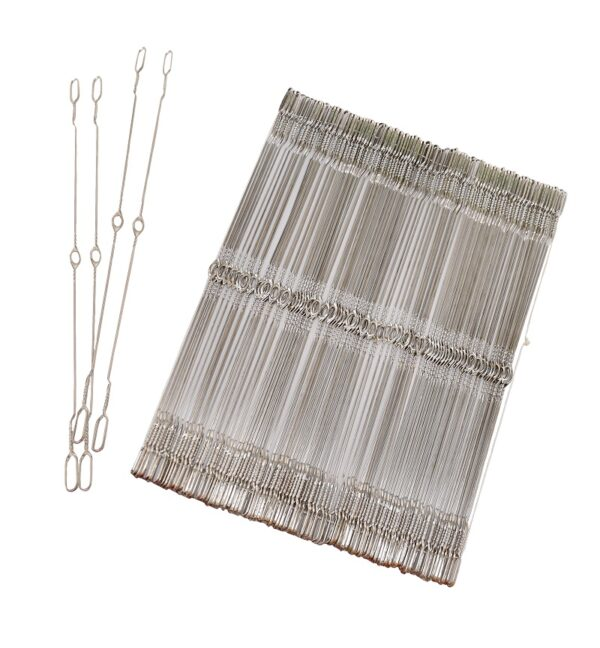 Inserted Eye Heddles for Looms